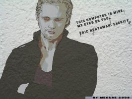 Eric Northman Wallpaper by MekareMadness