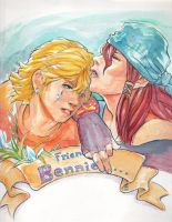 FFCCCB: Friends w. Bennies by The-Z