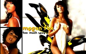 Megan Fox - too much sexy by mrccreativo