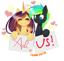Ask us! by Ruef-Bae