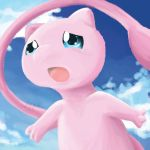 Sad Mew Speedpaint by julieloveart