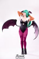Morrigan Aensland by Azaak