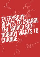 Change The World Typography by MattEdson