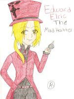 FMA: Ed the MadHatter color by almabrangel