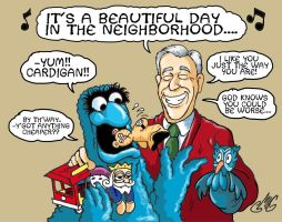 Mister Rogers Has A Beautiful Day by Smigliano
