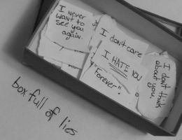 box full of lies. by acidteaparty