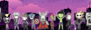 Marvel Heroes by ScorpionsKissx