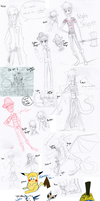 All The Hiems Drawings 8D by ay4u