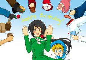 Happy Bday Vietnam and Sealand by Lenlipui