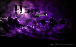 Holiness 'Higher' wallpaper by Chefinlove