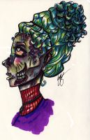 Lady Zombie by ThatsByronic