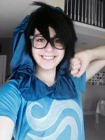 John Egbert Cosplay by SpiralWolf27