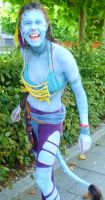 Na'vi Avatar Cosplay by Yazzzle