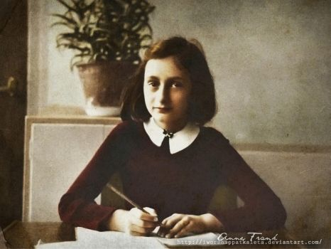 Anne Frank the Writer by Livadialilacs