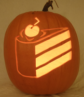 Cake Pumpkin Light by johwee