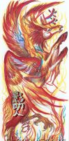 Phoenix Flame Pegasus of the South by ShadowSaber