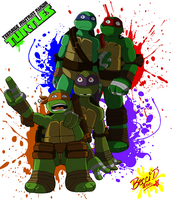 The Turtles by Mysterious-D