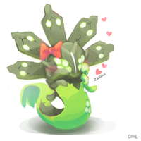 Muffin the Zygarde by Cuney