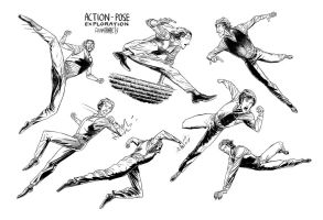 Actionposes by AdamTemple