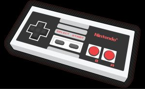 NES controller by Auzins