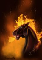 -Fire Nightmare- by Dinfreal