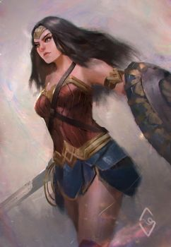 Princess of Themyscira by mangamie
