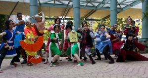 The Last Airbender group shot by Aether-Shadow