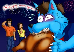 Happy New Year :2009: by paladin095
