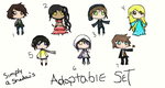 Chibi Adoptables (open!!~) by Simply-a-Shadow