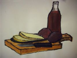 potatoes, bread and wine by Dr-pepper14