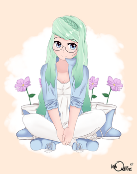 The Mint Girl by InkOutline