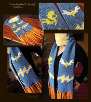 Wonderbolts scarf views -Spitfire by Piquipauparro