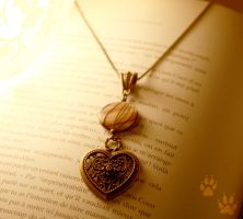 Heart Necklace by v-allegrini