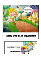 Link Vs the Cuccos by Frog27