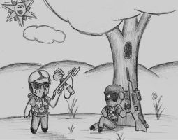 Paint-balling by SPUD360