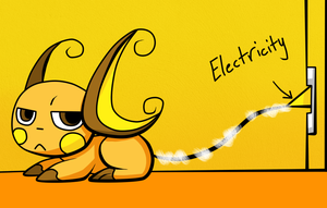 Raichu: How to make electricity by FlareMor