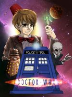 Doctor Who Poster by Silversoma