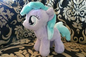 Filly Half Note Plushie by navkaze