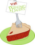 Vote Pushing Daisies by Alygator711