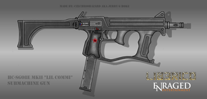 Fictional Firearm: HC-SG08E Mk II Submachine Gun by CzechBiohazard