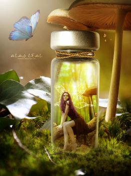 Forest in the Glass by alanleal22