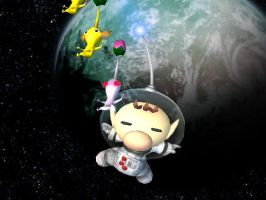 Olimar The SpaceMan by EpicBrawlPictures