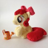 My Little Plush Pony Apple Bloom by RufousCat
