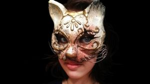 Cat Splicer Mask by MonocleComplex