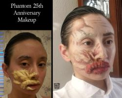 Phantom 25 Makeup by SilverDrgnbane