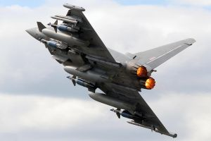 Eurofighter Typhoon F2. by flyers1