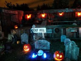 Backyard Boot Hill by InnsmouthFishwife