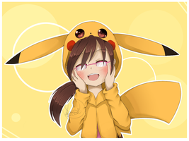 PikaGirl -Remake- by kimmymice