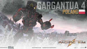 Pacific Rim Jaeger  Gargantua 4 and film review by PostmodernD