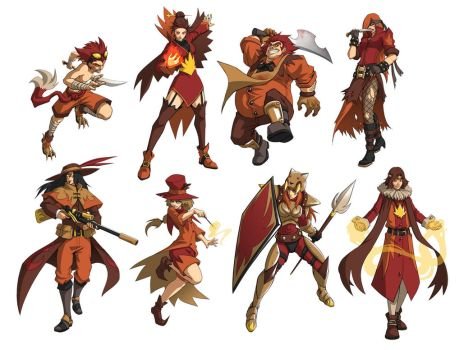 Fall Class Concepts by Quirkilicious